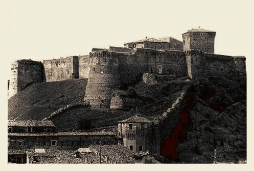 Carta tematica degli insediamenti cesenati dell'epoca del bronzo