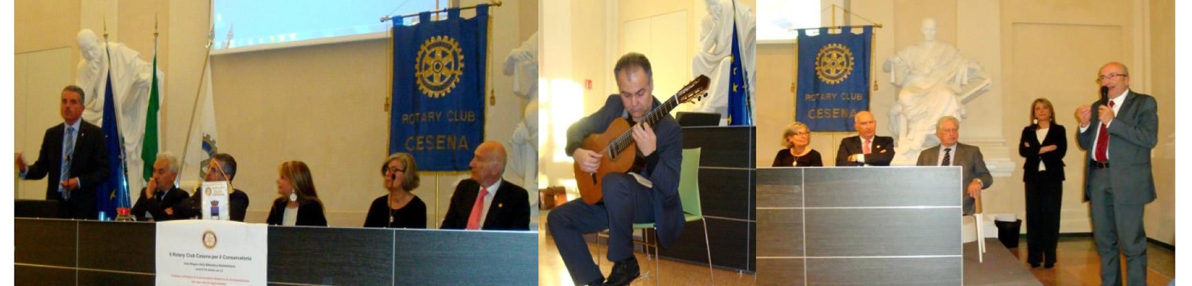 il Service del Rotary Club Cesena per il Conservatorio