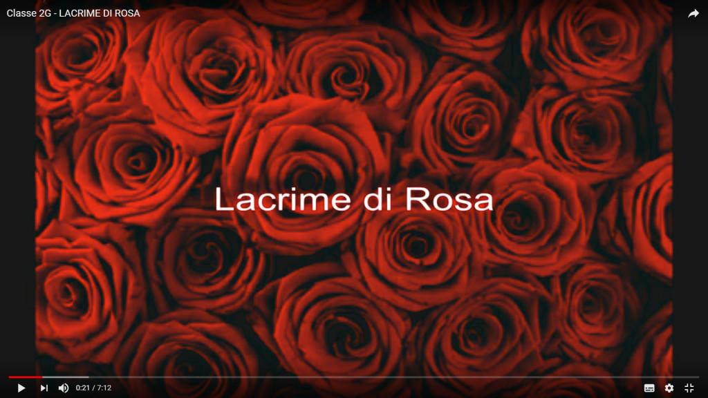 """LACRIME DI ROSA """"VIDEO"""""""
