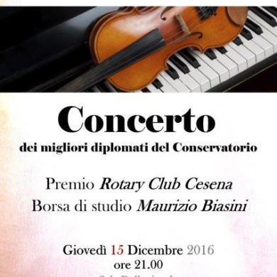 Concerto borse studio