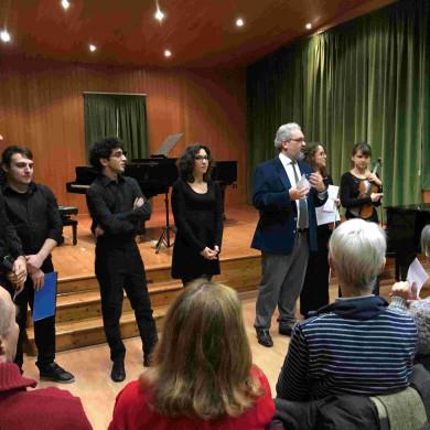 Giorgio Babbini presenta i protagonisti del concerto