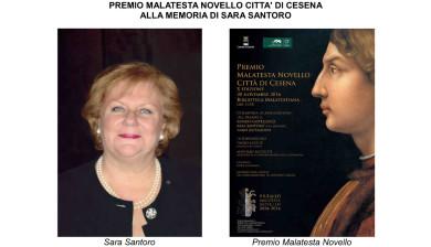 PREMIO MALATESTA NOVELLO CITTA' DI CESENA ALLA MEMORIA DI SARA SANTORO