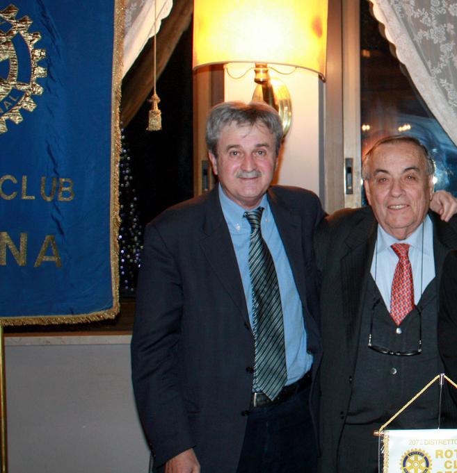 da sinistra Giordano Conti e Domenico Scarpellini