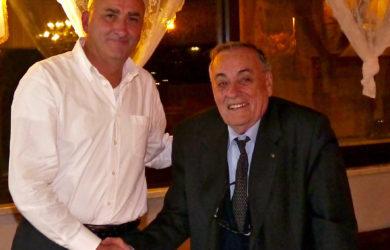 da sinistra Roberto Graziani e Domenico Scarpellini