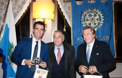 da sinistra, Sandro Gozi, Domenico Scarpellini e Fulvio Rocco de Marinis