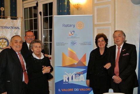 La dirigenza del Rotary al RYLA - GRAND HOTEL Cesenatico - 25 Marzo 2017
