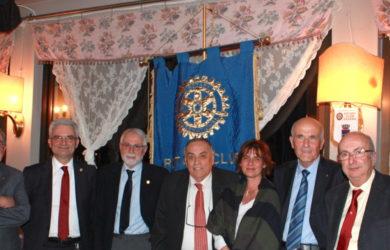 da sinistra Africo Morellini, Giancarlo Foschi, Franco Casadei, Domenico Scarpellini, Monica Cantori, Oliviero Zondini, Andrea Paolo Rossi