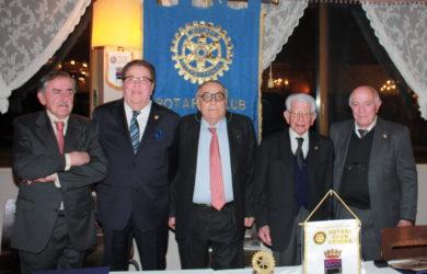 da sinistra Africo Morellini, Guido Pistocchi, Domenico Scarpellini, Aurelio Campanini e Renzo Collini
