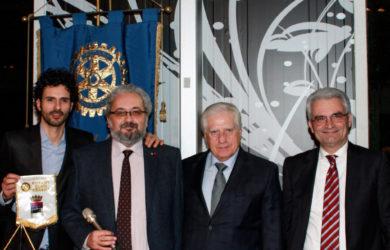 Al Rotary Club Cesena il noto chef Marco Bianchi testimonial della campagna televisiva Orogel