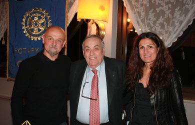 da sinistra Marco Campomaggi, Domenico Scarpellini e Caterina Lucchi