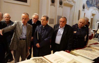da sinistra Marino Mengozzi, Piero Altieri, Douglas Regattieri e Domenico Scarpellini