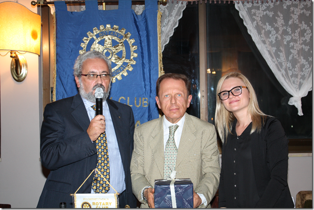 da sinistra Giorgio Babbini, Pier Antonio Bonvicini e Ivana