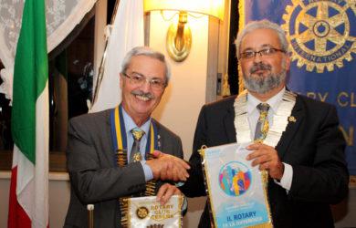 Maurizio Marcialis, Governatore del Distretto 2072, in visita al Rotary Cesena