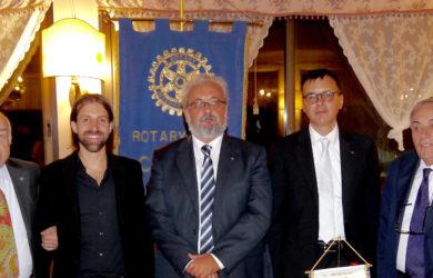da sinistra, Pier Luigi Pagliarani, Antonio Riva, Giorgio Babbini, Luigi Angelini e Domenico Scarpellini