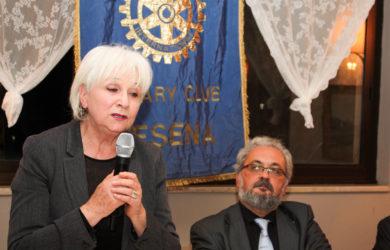 da sinistra Riccarda Casadei e Giorgio Babbini