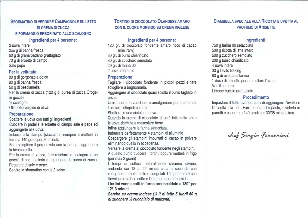 Gruppo Consorti - lo spettacolo del gusto - febbraio 2014