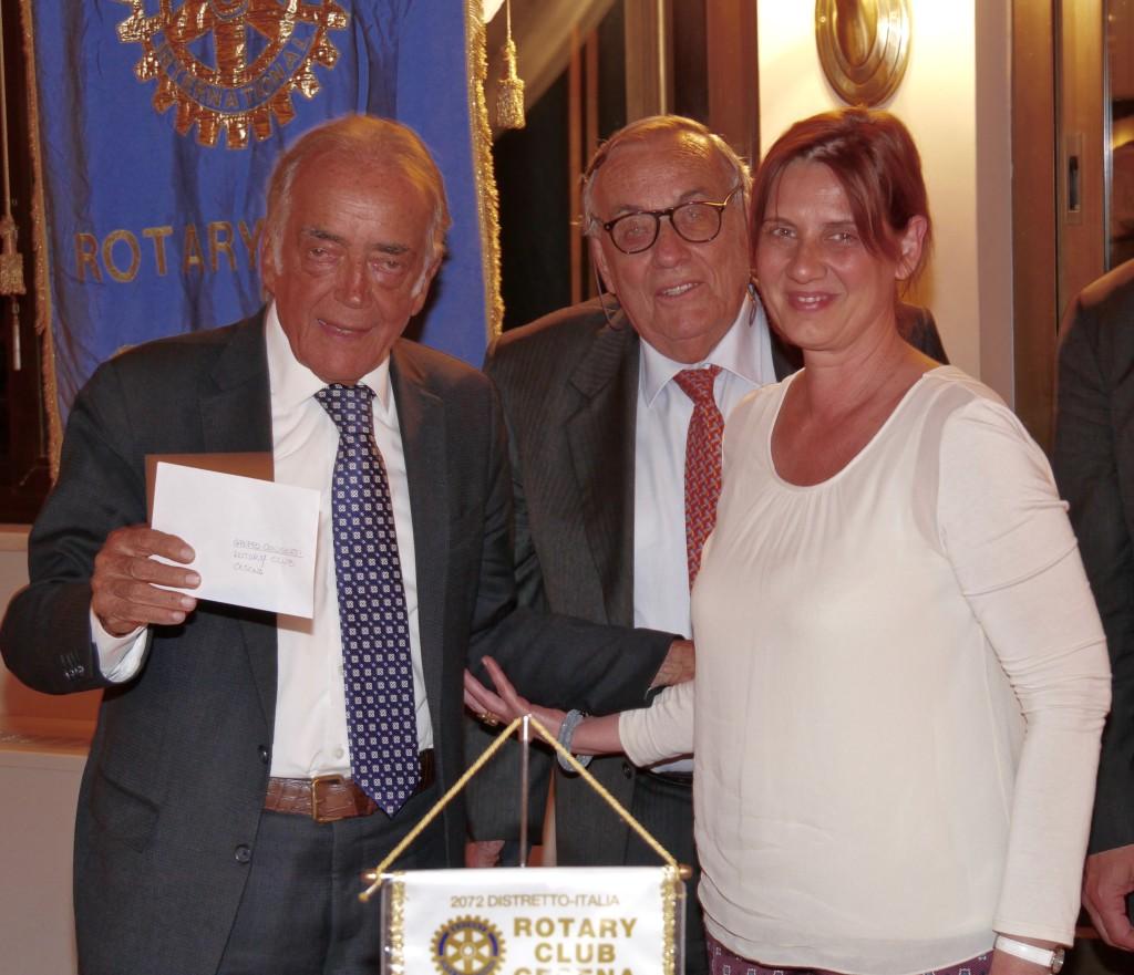 da sinistra Dino Amadori, Domenico Scarpellini e Monica Cantori