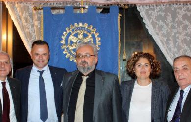 da sinistra Giampiero Placuzzi, Rocco De Lucia, Giorgio Babbini, Barbara Burioli e Domenico Scarpellini