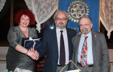 da sinistra Angela Mazza, Giorgio Babbini e Fabrizio Rasi