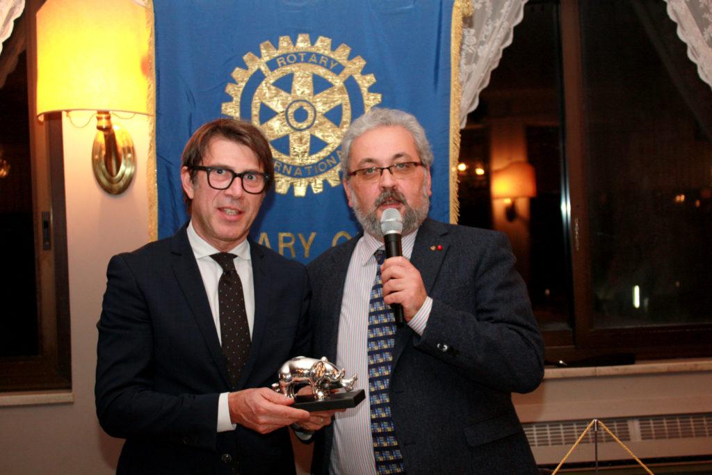 da sinistra, Giuseppe Leoncini e Giorgio Babbini