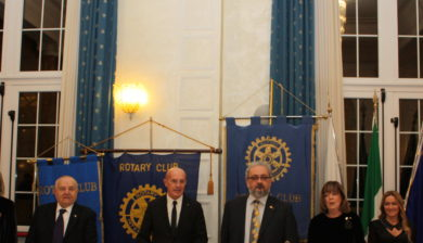 al centro Arrigo Sacchi e Giorgio Babbini - Interclub Rotary
