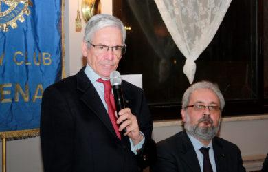 da sinistra, Claudio Widmann e Giorgio Babbini