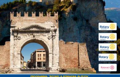 Locandina Rotary Romagna in Festa 2018