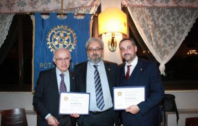 da sinistra, Claudio Riva, Giorgio Babbini e Gianguido Girotti