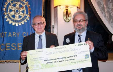 da sinistra, Stefano Montalti e Giorgio Babbini