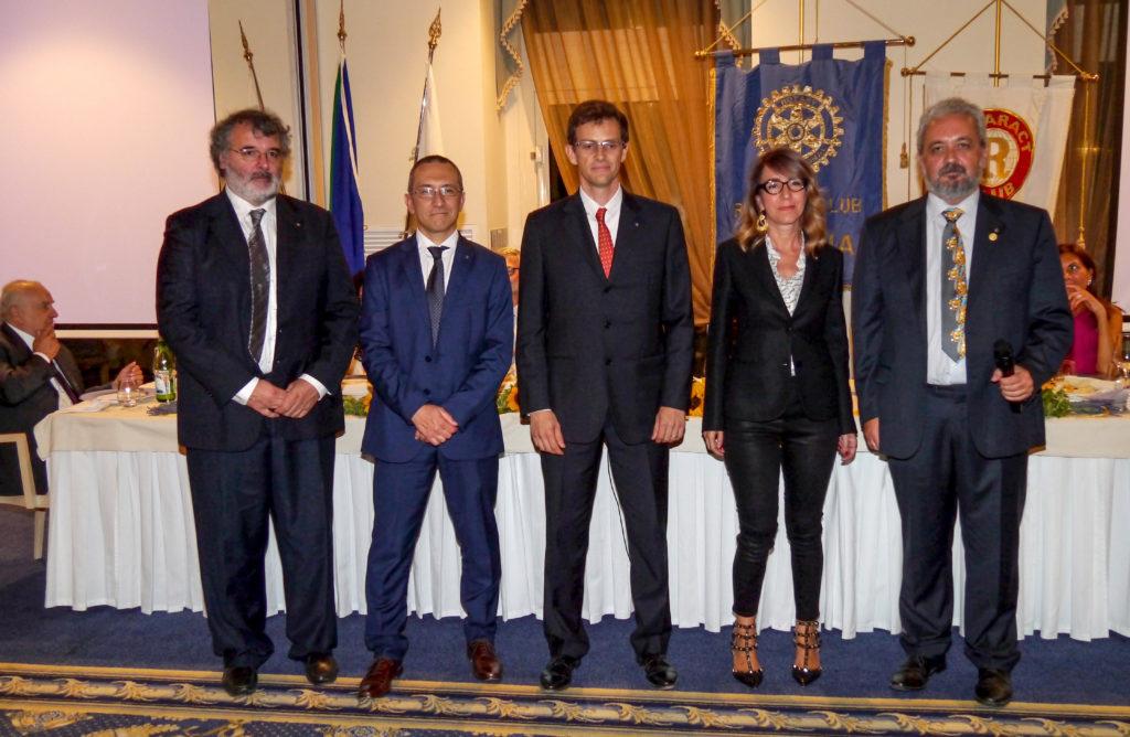 da sinistra, Paolo Chiavacci, Maurizio Cappellini, Mirko Viroli, Raffaella Milandri, Giorgio Babbini