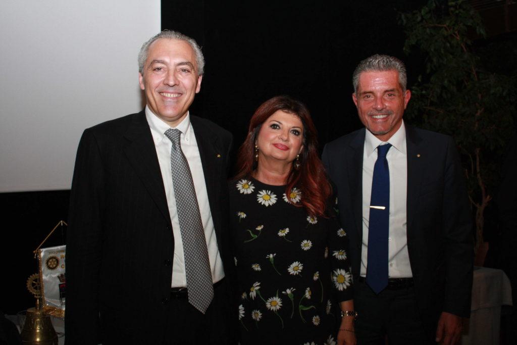 da sinistra Luca Panzavolta, Ester Castagnoli e Paolo Lucchi