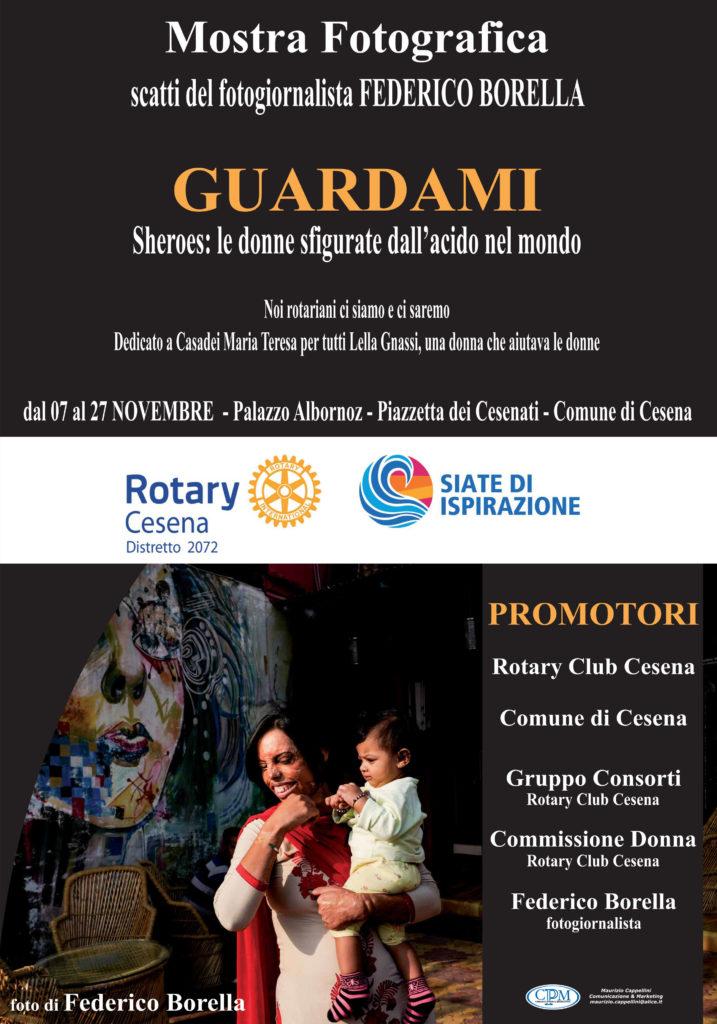 Rotary Cesena - GUARDAMI - mostra fotografica presso Comune Cesena