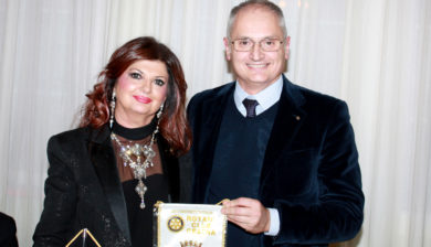 da sx, Ester Castagnoli e Stefano Serafini