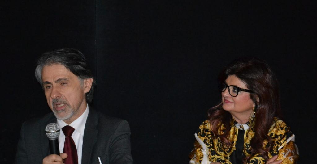 da sinistra Michele Leoni ed Ester Castagnoli