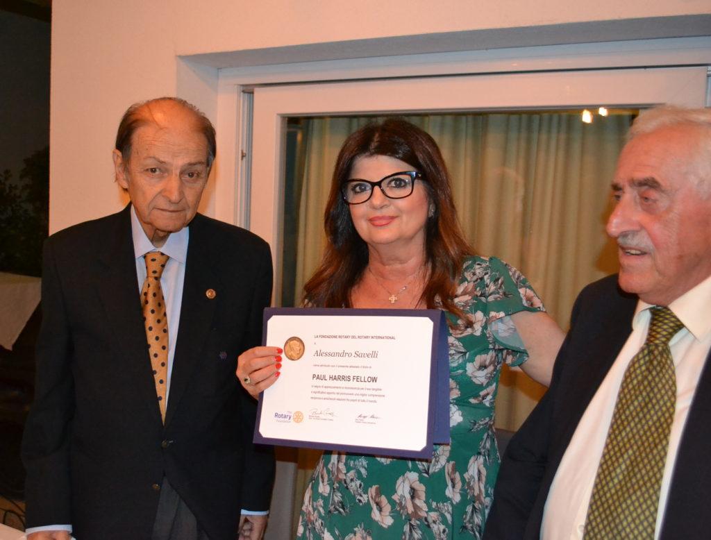 da sinistra Alessandro Savelli, Ester Castagnoli e Africo Morellini