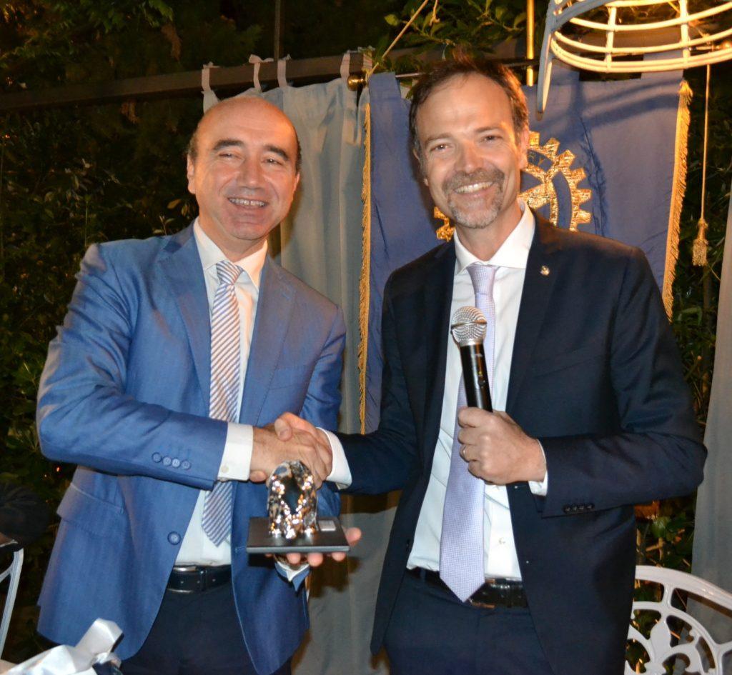 da sx, Giovanni Emanuele Corazza ed Alessio Avenanti