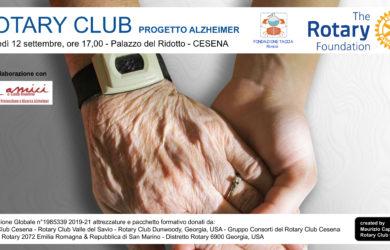 ROTARY CLUB - PROGETTO ALZHEIMER - 2019-21