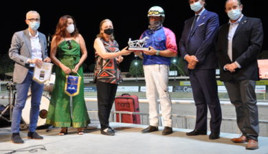 premiazione all'Ippodromo di Cesena - 21.08.2020