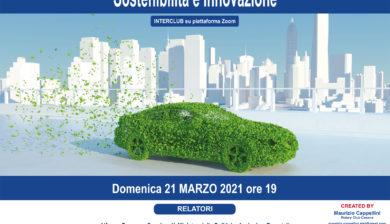 Rotary Distretto 2072 - Interclub Sostenibilità e Innovazione - 21 MARZO 2021
