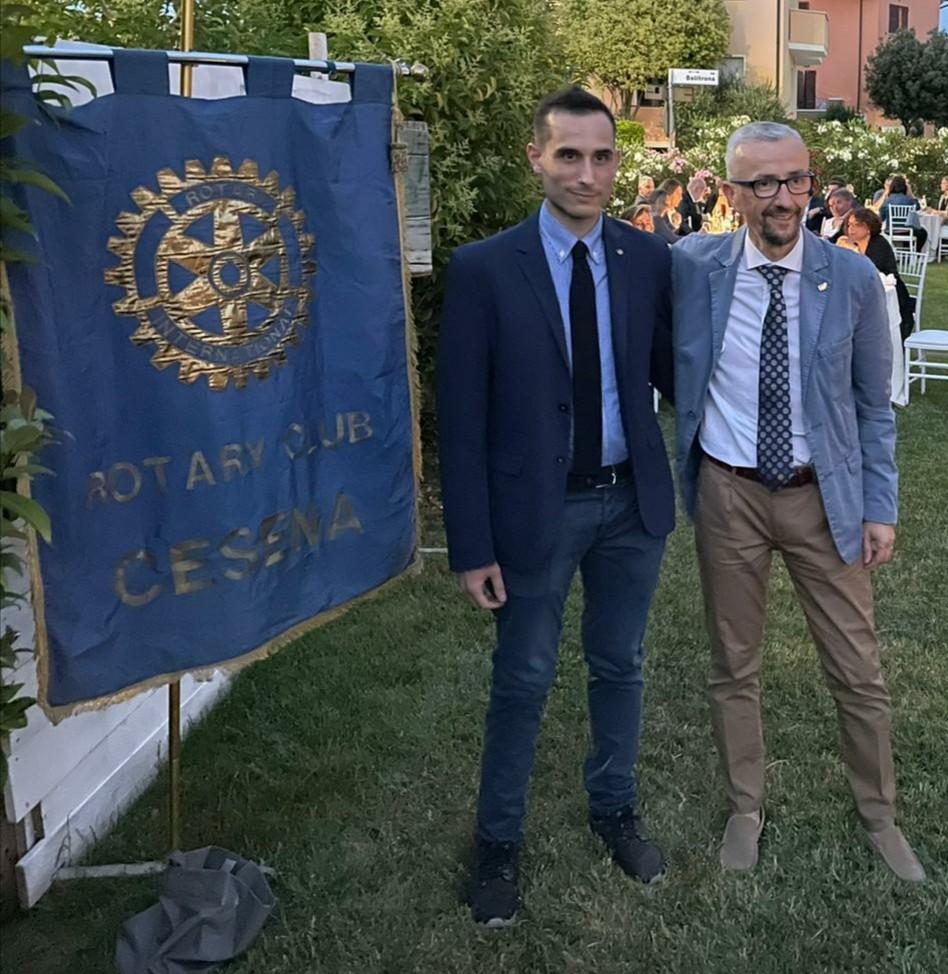 da sx, Alberto Sensini e Francesco Zanotti