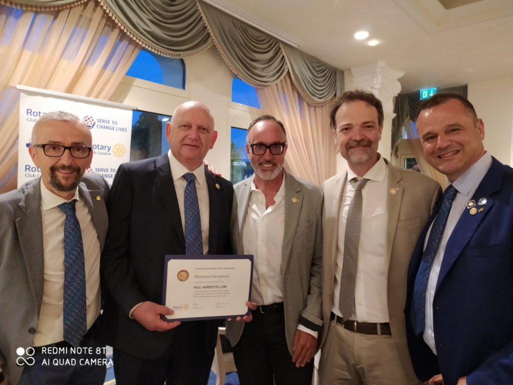 da sx, Francesco Zanotti, Massimo Cicognani, Antonio Deflorian, Alessio Avenanti e Rocco De Lucia