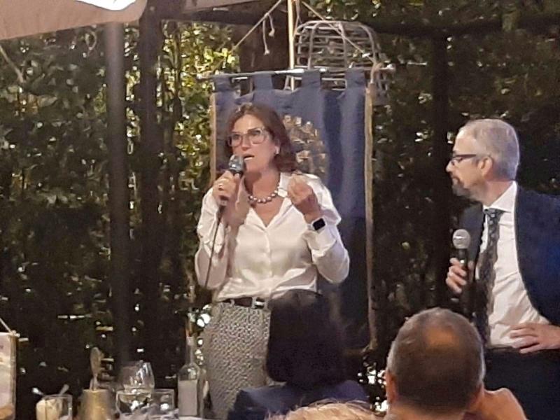 da sx, Mara Fullin e Francesco Zanotti