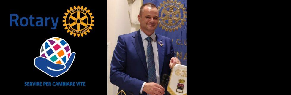 Rocco De Lucia, presidente Rotary Club Cesena 2021-22__