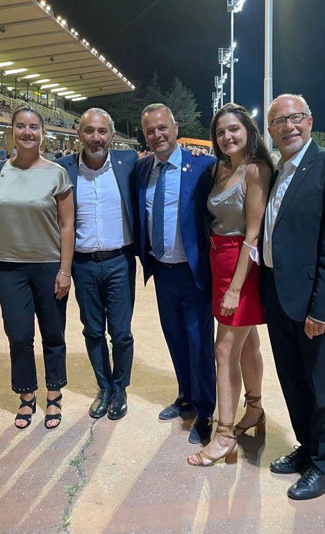 da sx, Silvia Magni, Claudio Faggiotto, Rocco De Lucia, Laura Lando, Gualtiero Roveda